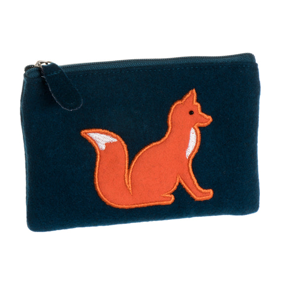 Felt Fox Coin Purse