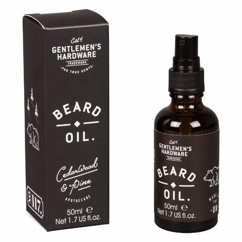 Gentleman's Hardware Beard Oil 50ml