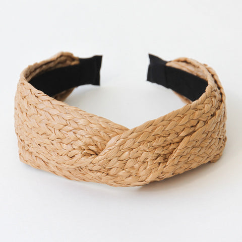 Straw Twist Headband