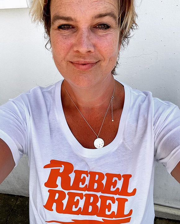 Women's Looser Fit Rebel Rebel T Shirt