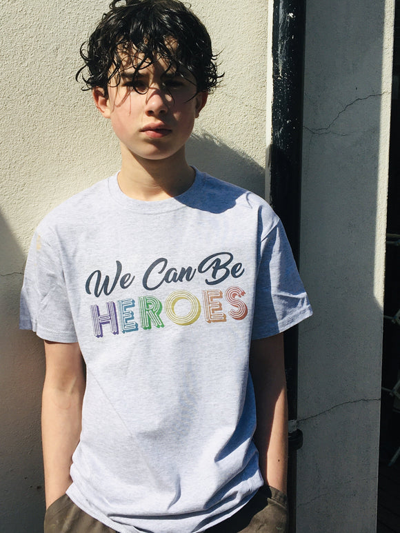 Men's We Can Be Heroes T Shirt