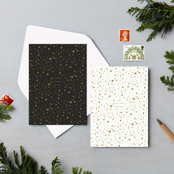 Starry Sky Charity Christmas Card 6 Pack