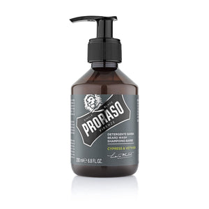 PRORASO Beard Wash CYPRESS & VETYVER (200ml)