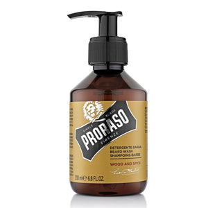 PRORASO Beard Wash WOOD & SPICE (200ml)