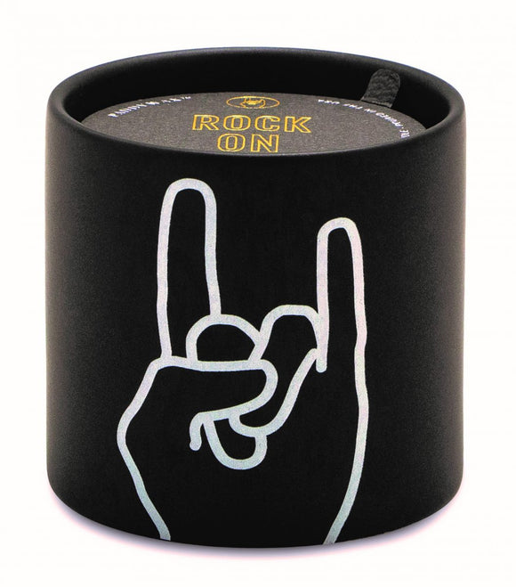 Impressions Candle 5oz  - Leather & Oakmoss - Rock On
