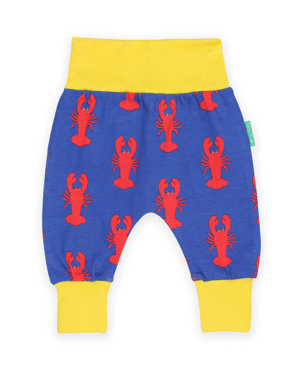 Organic Lobster Print Yoga Pants