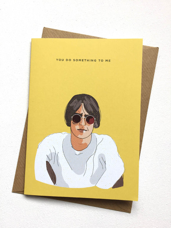 Paul Weller You Do Something To Me Card