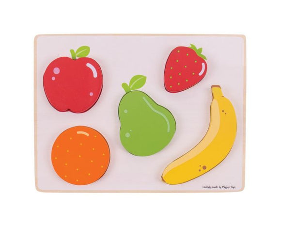Bigjigs Lift and See Puzzle (Fruit)