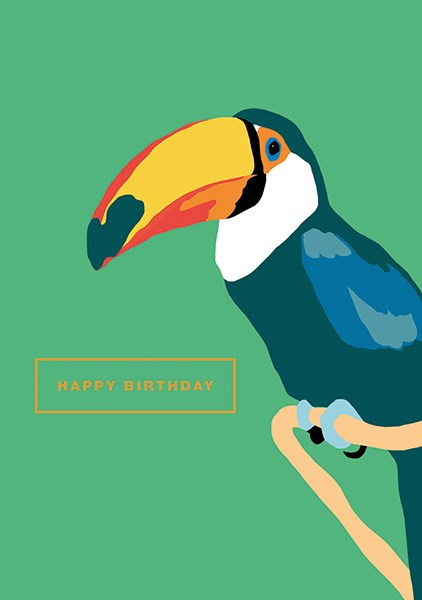 Happy Birthday Toucan