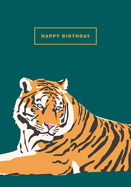 Happy Birthday Tiger