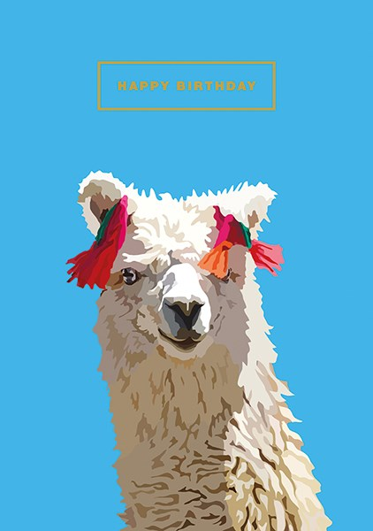 Happy Birthday Llama