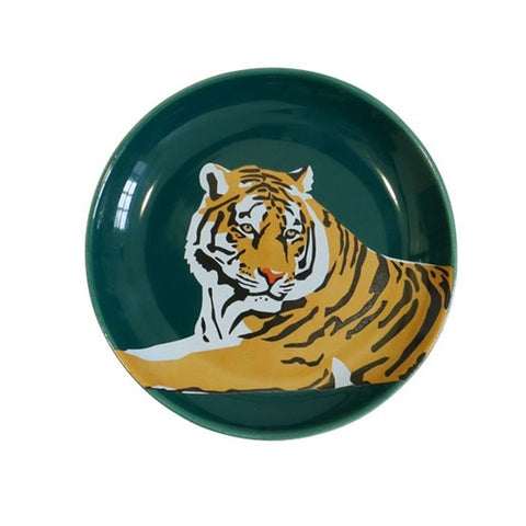 Emily Brooks Tiger Trinket Tray
