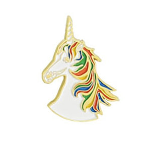 Emily Brooks Unicorn Pin Badge
