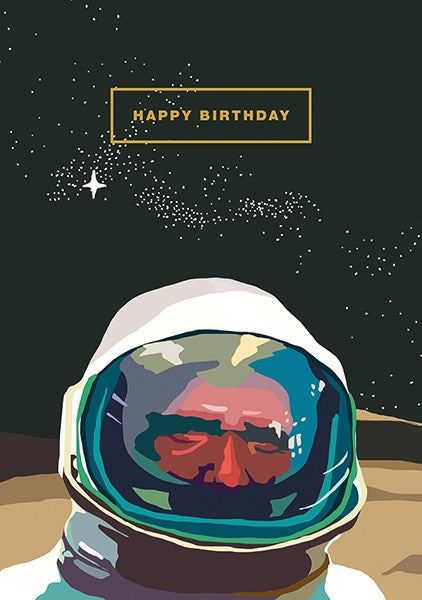 Happy Birthday Astronaut