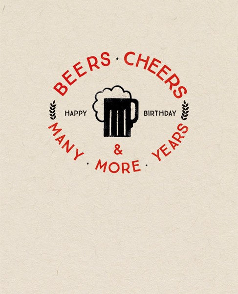 Beer Cheers and Many More Years EM04
