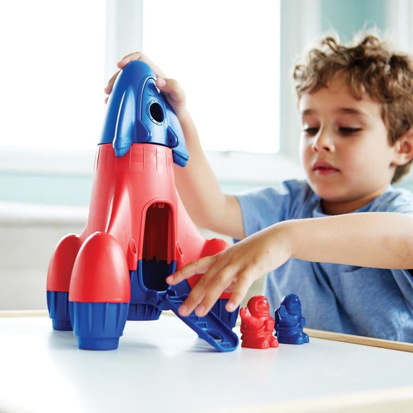 Green Toys Rocket (Blue)