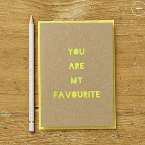 You Are My Favourite