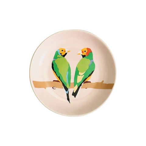 Emily Brooks Lovebird Trinket Tray