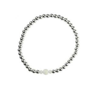 Moonstone Birthstone Bracelet  - June