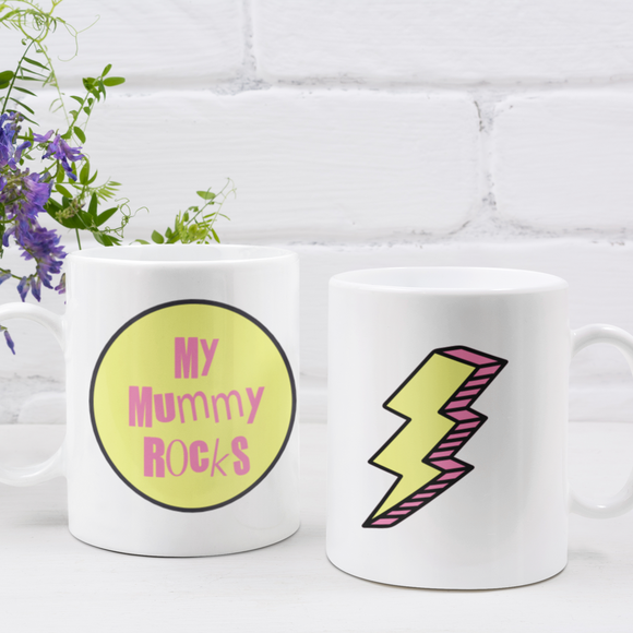 My Mummy Rocks Mug