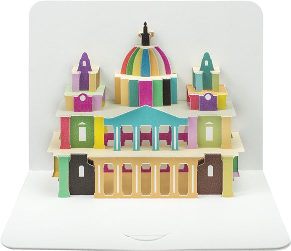 3d St Paul's Cathedral Card