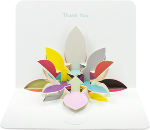 3d Thank You Card
