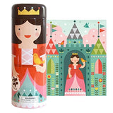 Petit Collage Puzzle + Coin Bank Royal Princess