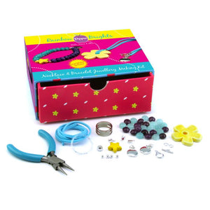 Rainbow Brights Necklace & Bracelet Pippin Kit in Sunshine Yellow