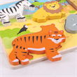 Bigjigs Chunky Liftout Safari Puzzle