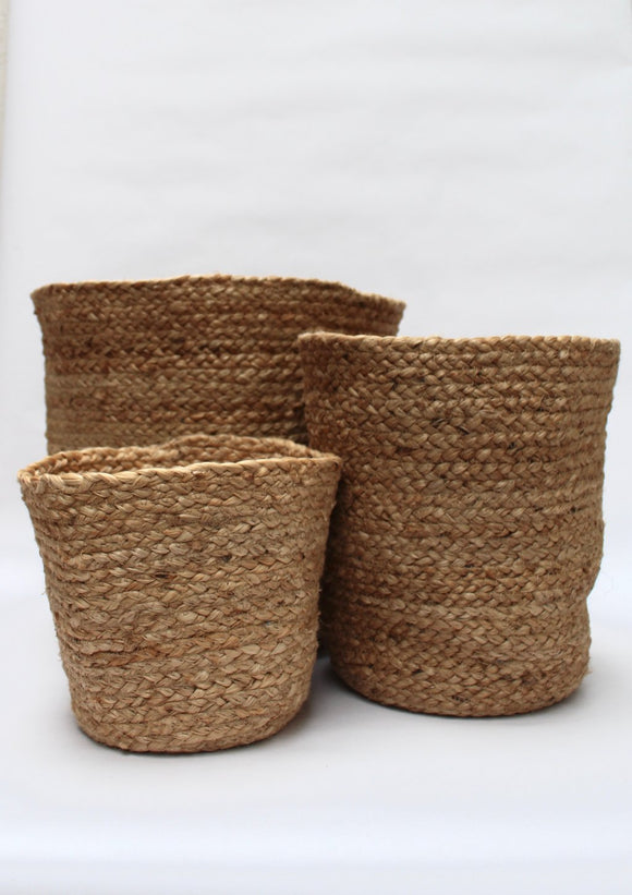 Jute Storage Basket | Natural | 3 Sizes