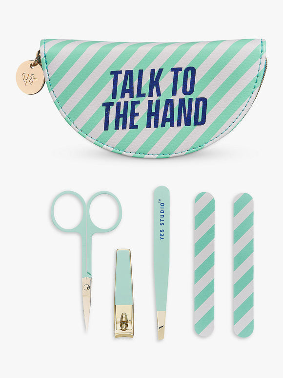 Yes Studio Talk To The Hand Manicure Set