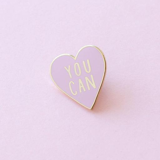 You Can Enamel Pin