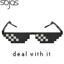 Deal With It Glasses Thug Life 8 Bit Style Pixel Unisex Sunglasses SJ2049