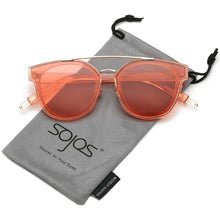 Classic Sunglasses for Women Men Metal Frame Mirrored Lens SJ2038