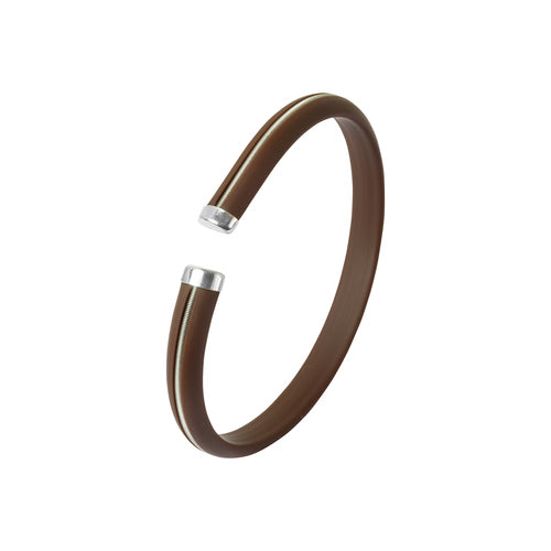 Men's Bracelet - Brown Stripe