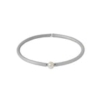Flexi-Bracelet - Light Grey Pearl