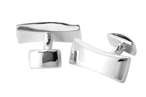 Sterling Silver Bar Cufflinks