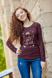 Grateful For It All long sleeve t-shirt in various colors