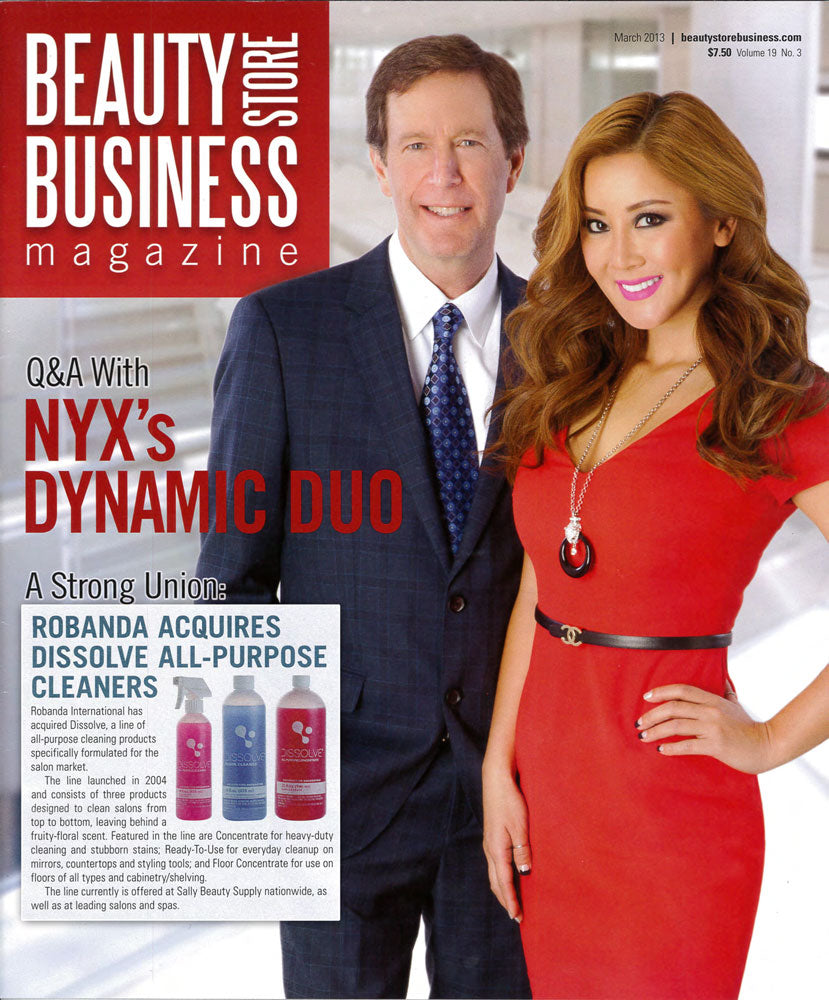 Robanda feat. in Beauty Store Business March 2013
