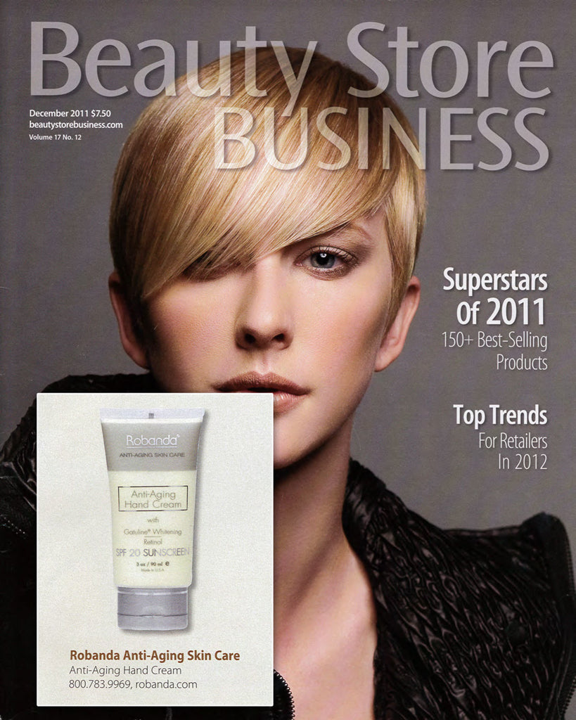 Robanda feat. in Beauty Store Business December 2011