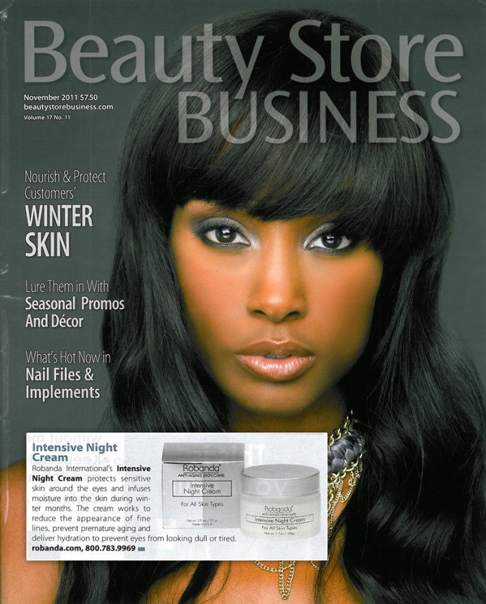 Robanda feat. in Beauty Store Business November 2011