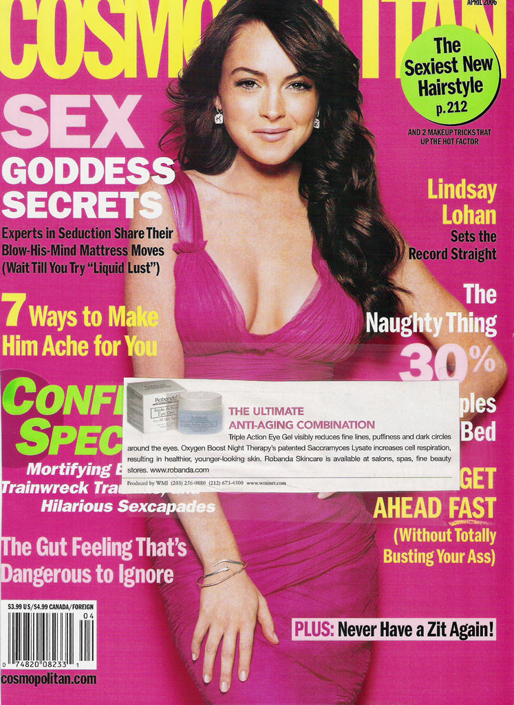 Robanda feat. in Cosmopolitan Apr 2006