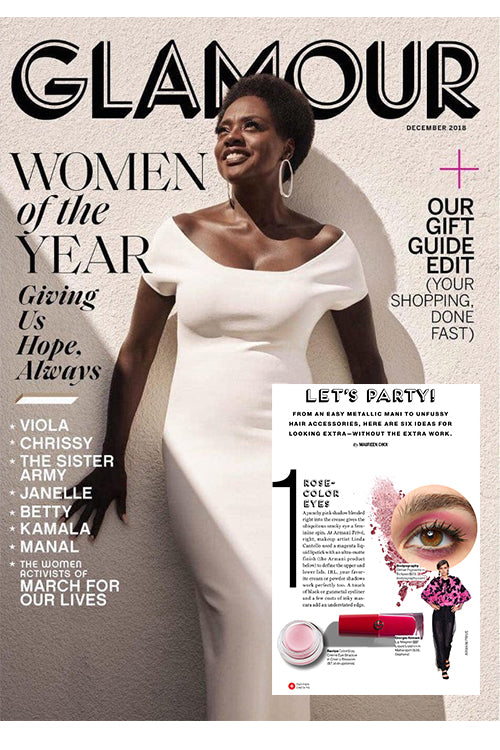 Robanda feat. in Glamour Magazine Dec 2018