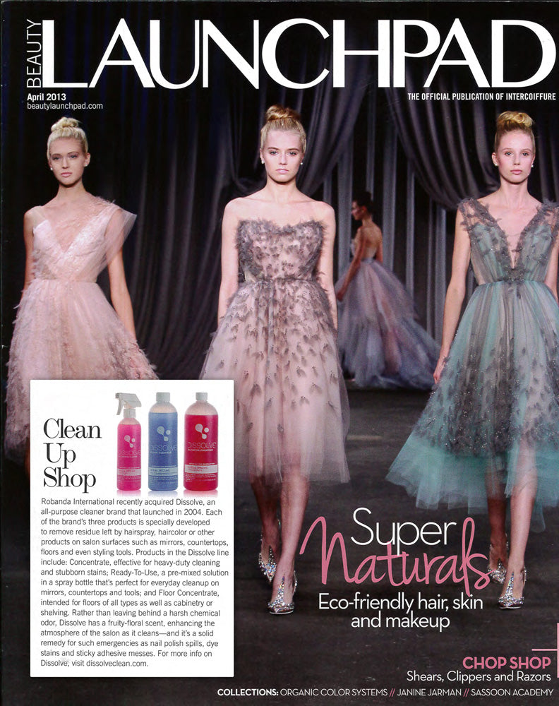 Robanda feat. in Beauty Launchpad April 2013