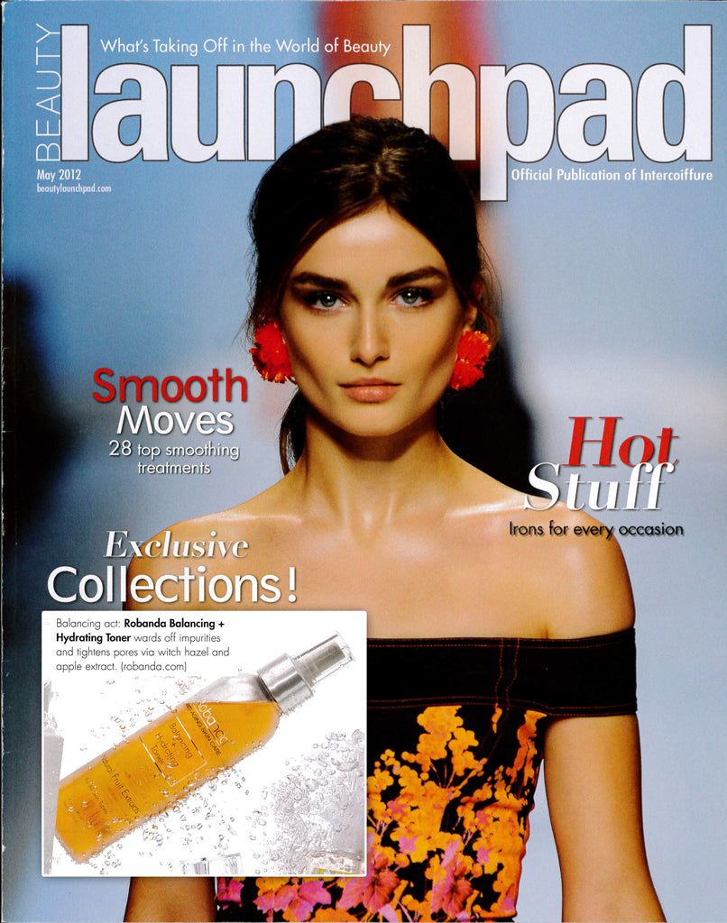 Robanda feat. in Beauty Launchpad May 2012