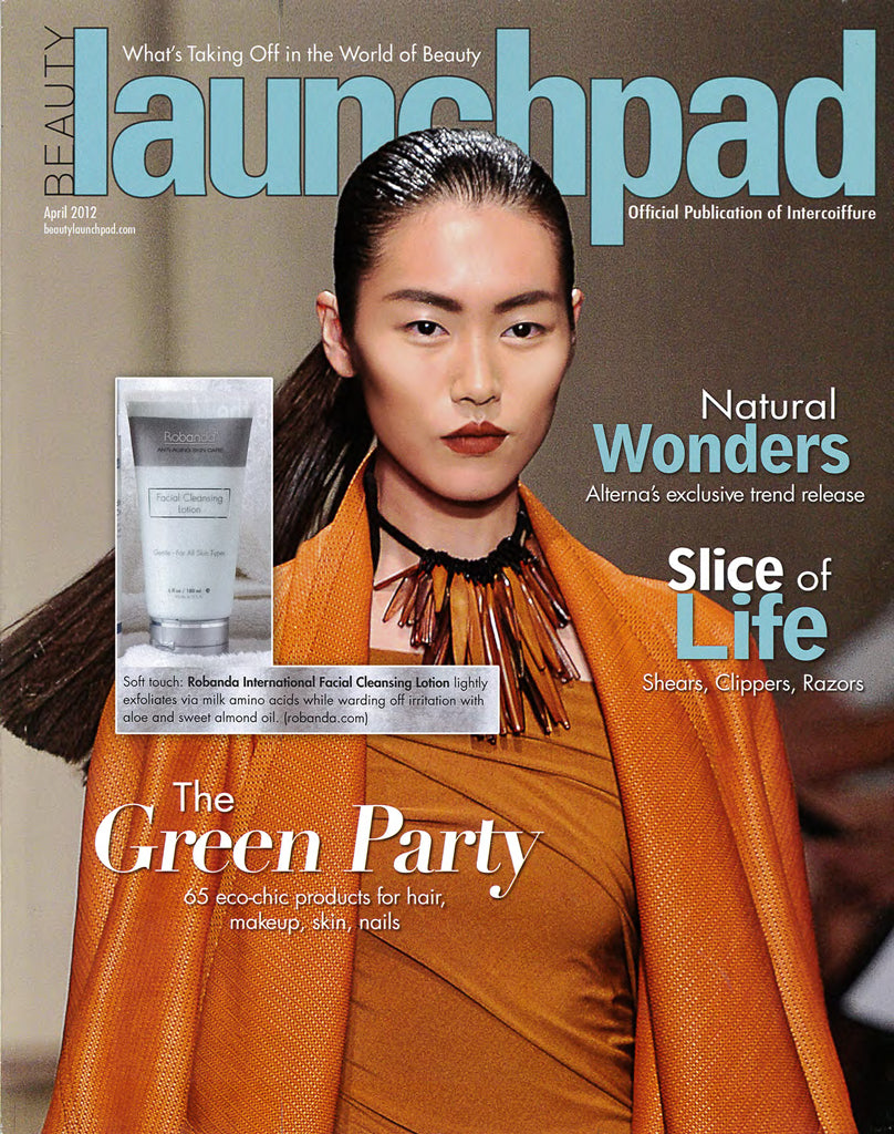 Robanda feat. in Beauty Launchpad April 2012