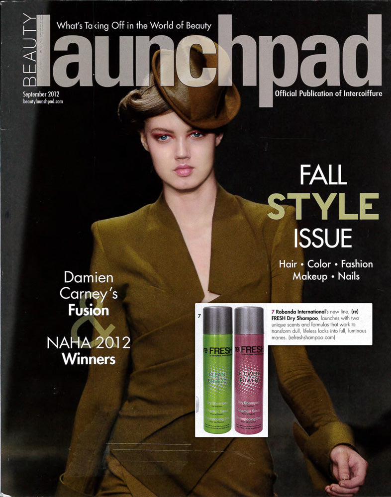 Robanda feat. in Beauty Launchpad September 2012
