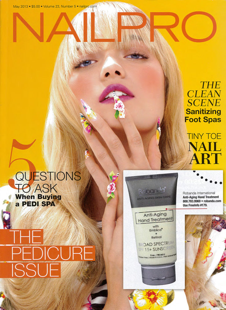 Robanda feat. in NailPro May 2013