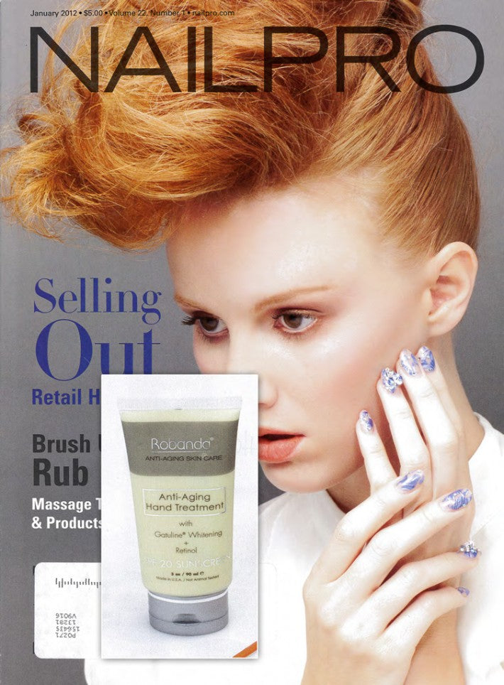 Robanda feat. in NailPro January 2012