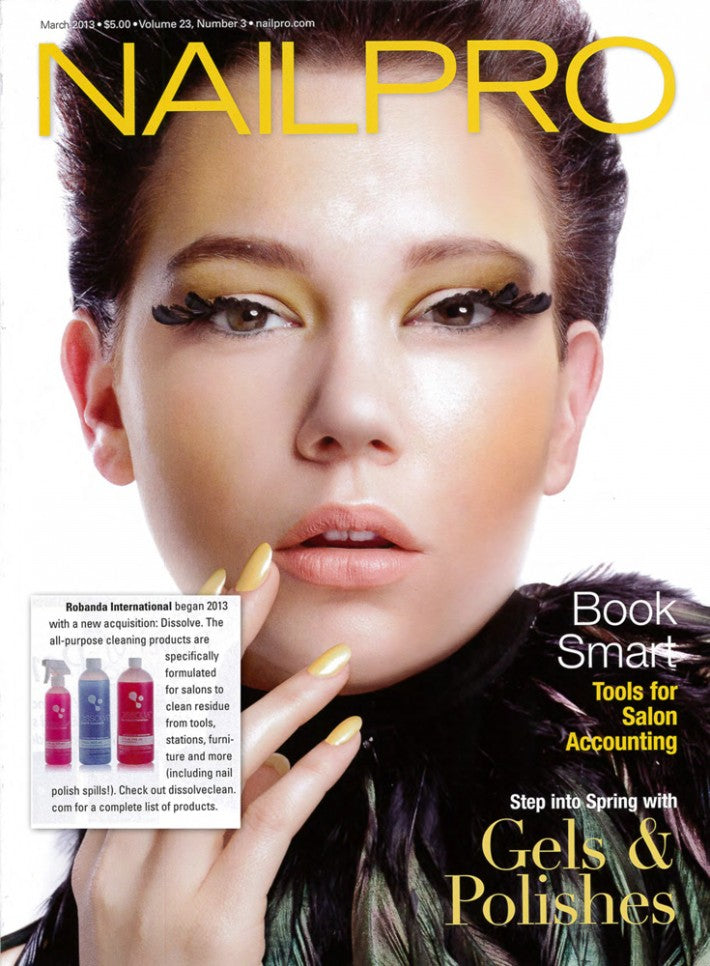 Robanda feat. in NailPro March 2013